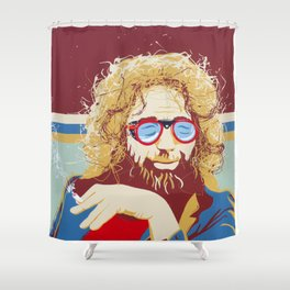 Jerry Apres' Ski Shower Curtain