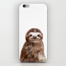 Little Sloth iPhone & iPod Skin