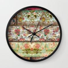 Lady Rococo Wall Clock