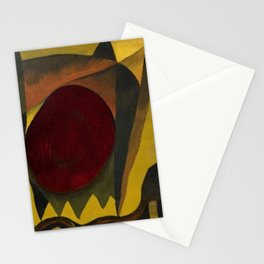 Indian Summer, Autumn Foliage by Arthur Dove Stationery Cards