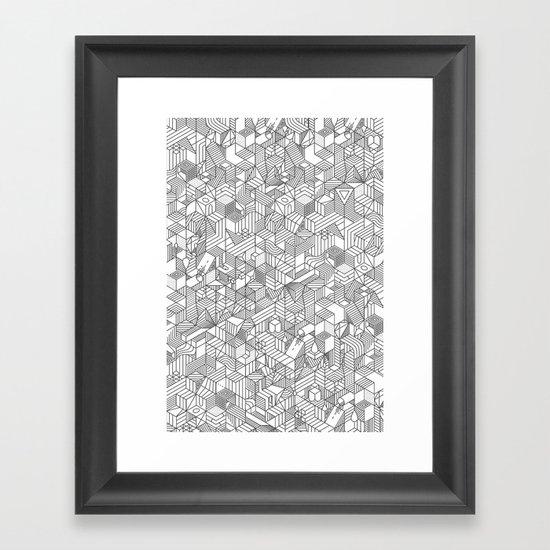 Complicity Framed Art Print