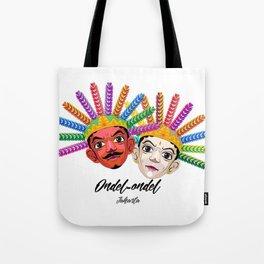 Ondel-ondel mask Tote Bag