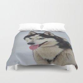 Siberian Husky Duvet Cover