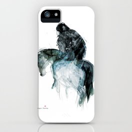 Horse (Ghost rider) iPhone Case
