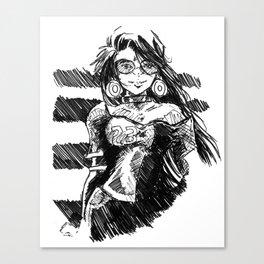 Fashion Art Canvas Print