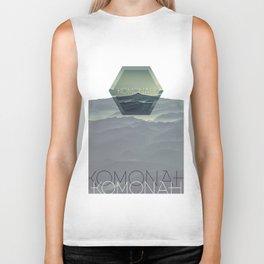 KOMONAH Font Design Biker Tank