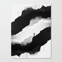 spirit Canvas Prints featuring White Isolation by Stoian Hitrov - Sto