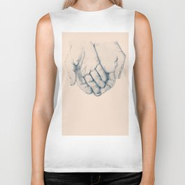 this is your hand, these are my hands, this is the world. Biker Tank