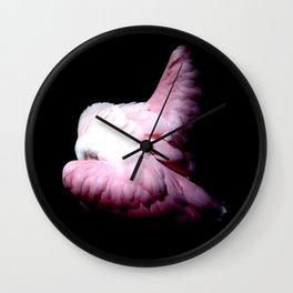 Roseate Spoonbill 2 Wall Clock
