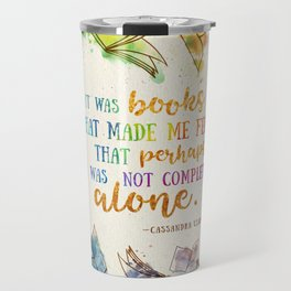 It was books Travel Mug