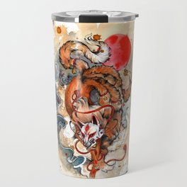 Kitsune Travel Mug