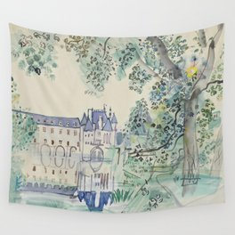 Raoul Dufy Le Chateau de Chenonceaux Wall Tapestry