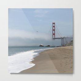 Another Foggy Day In San Francisco Metal Print