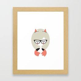 Call me Foxy! Framed Art Print