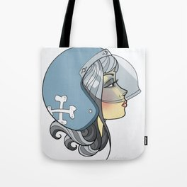 Moto Girl Tote Bag