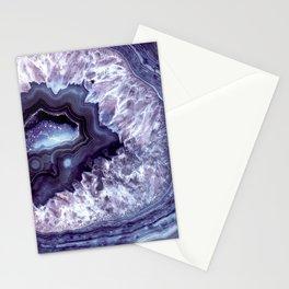 Indigo Quartz Crystal Stationery Cards