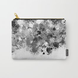 paint splatter on gradient pattern bwmw Carry-All Pouch