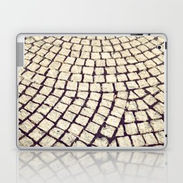 cobblestone pathway Laptop & iPad Skin