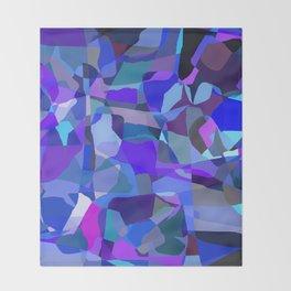 Matisse Blue Throw Blanket