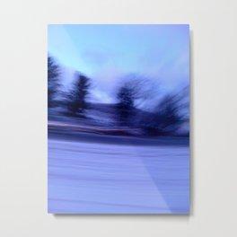 winter blur  Metal Print