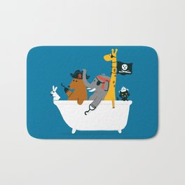 Everybody wants to be the pirate Bath Mat