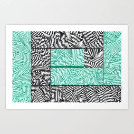 A Path Art Print