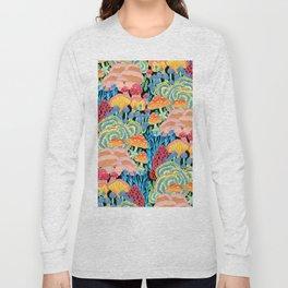 Fungi World (Mushroom world) - BKBG Long Sleeve T-shirt