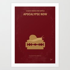 No006 My Apocalypse Now minimal movie poster Art Print