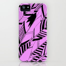 feather fury iPhone Case