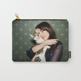 Meow means Woof Carry-All Pouch