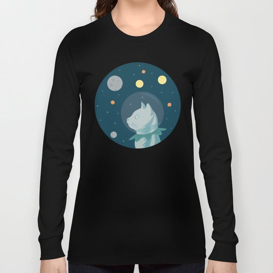 Dreaming about Space Long Sleeve T-shirt