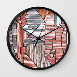 Bridget Riley Wall Clock