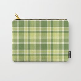 Summer Plaid 13 Carry-All Pouch