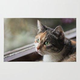 Lippy Cat Rug