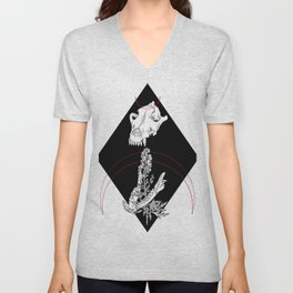 Strength and Weakness Unisex V-Neck