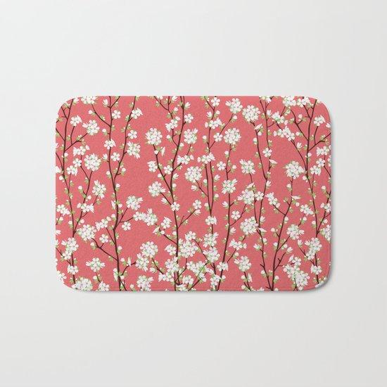 Go Orient Cherry Blossoms Bath Mat