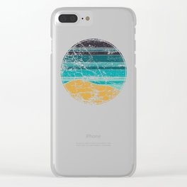 Mt Sharp National Park Clear iPhone Case