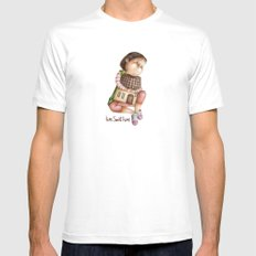 Home Sweet Home Mens Fitted Tee White MEDIUM