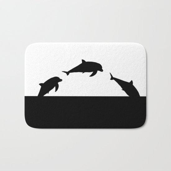 Dolfin Jumps Bath Mat