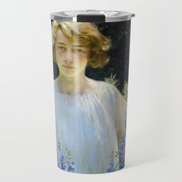 Charles Courtney Curran Betty Gallowhur Travel Mug
