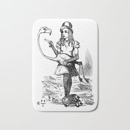 Alice and Flamingo Bath Mat