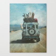 NEVER STOP EXPLORING II SUMMER EDITION Canvas Print