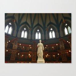 Ottawa Library Canvas Print