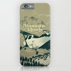 Mountains Hide in Clouds II - Tan iPhone 6s Slim Case