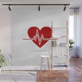 Heart life Wall Mural