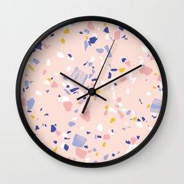 Pink Terrazzo Wall Clock