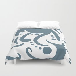 A Moderate Abstraction Duvet Cover