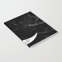 Marble Moon Notebook