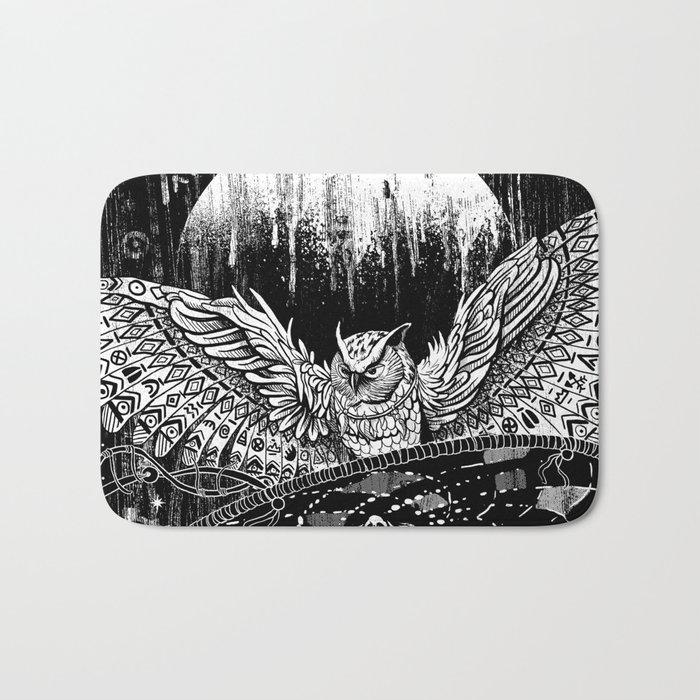 Spirit Owl Bath Mat