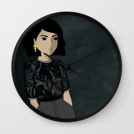 To be in the darks Wall Clock